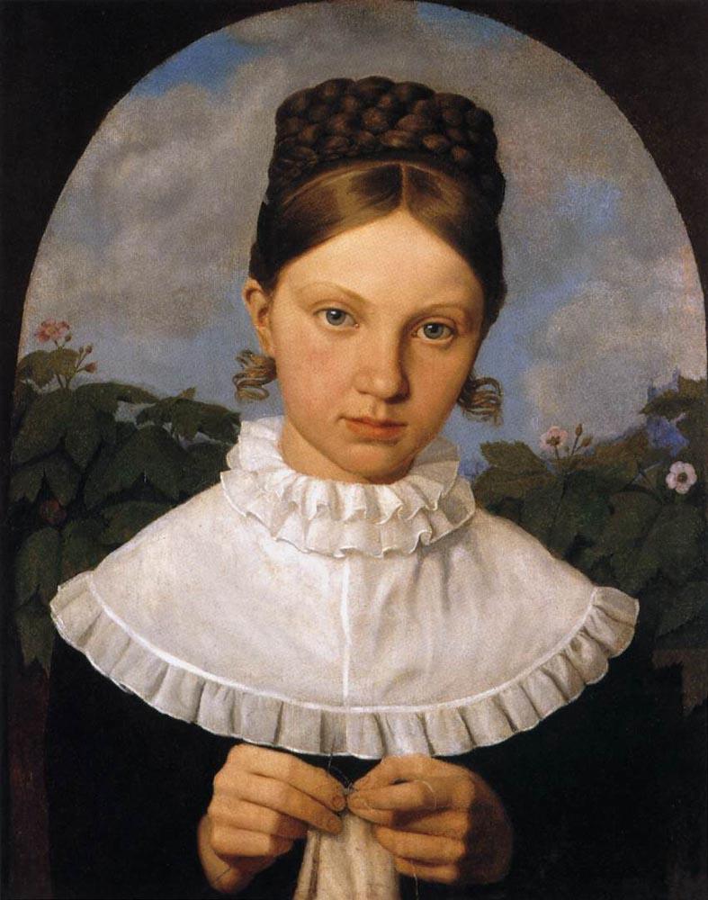 HESS_Heinrich_Maria_von_Portrait_Of_Fanny_Gail