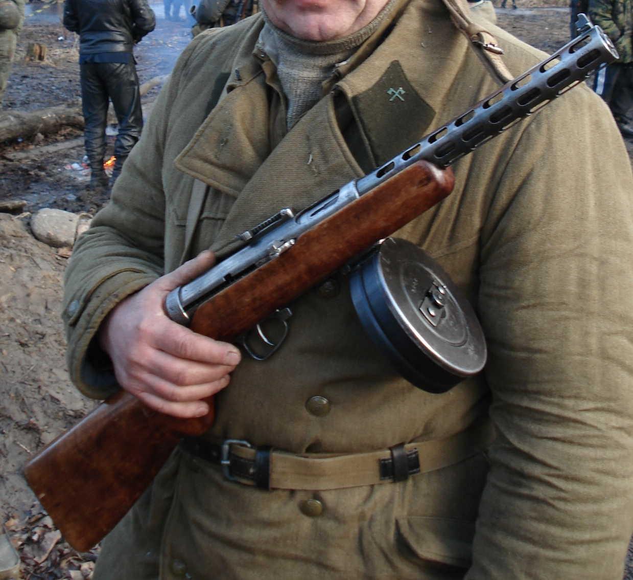 Заблуждения о советском огнестрельном оружии