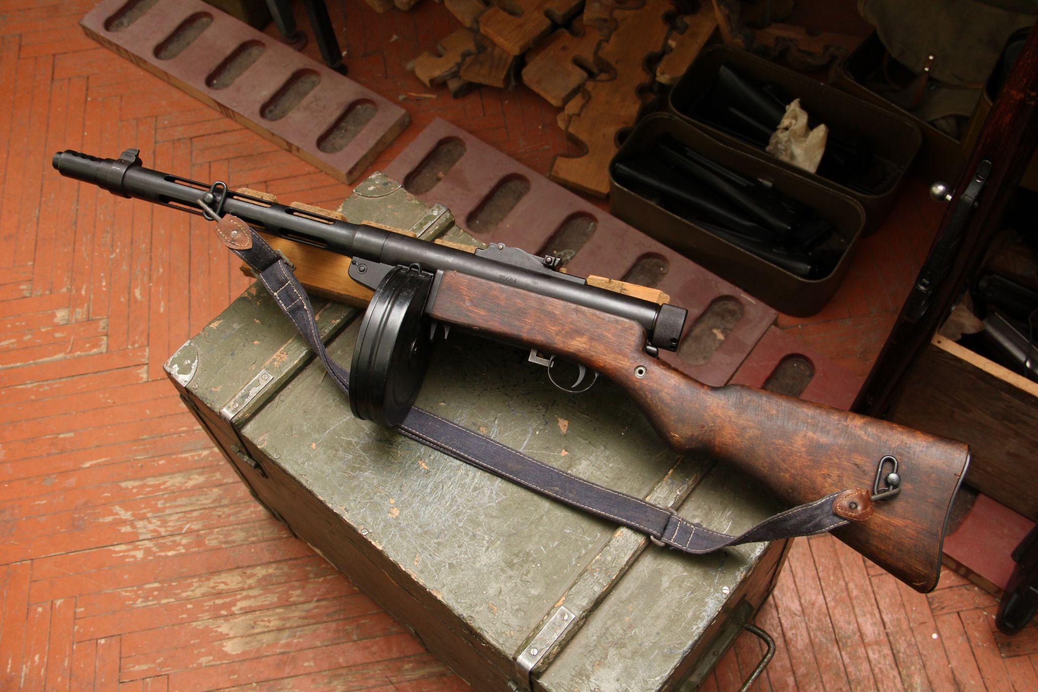 Pistolet-pulemet Suomi M31