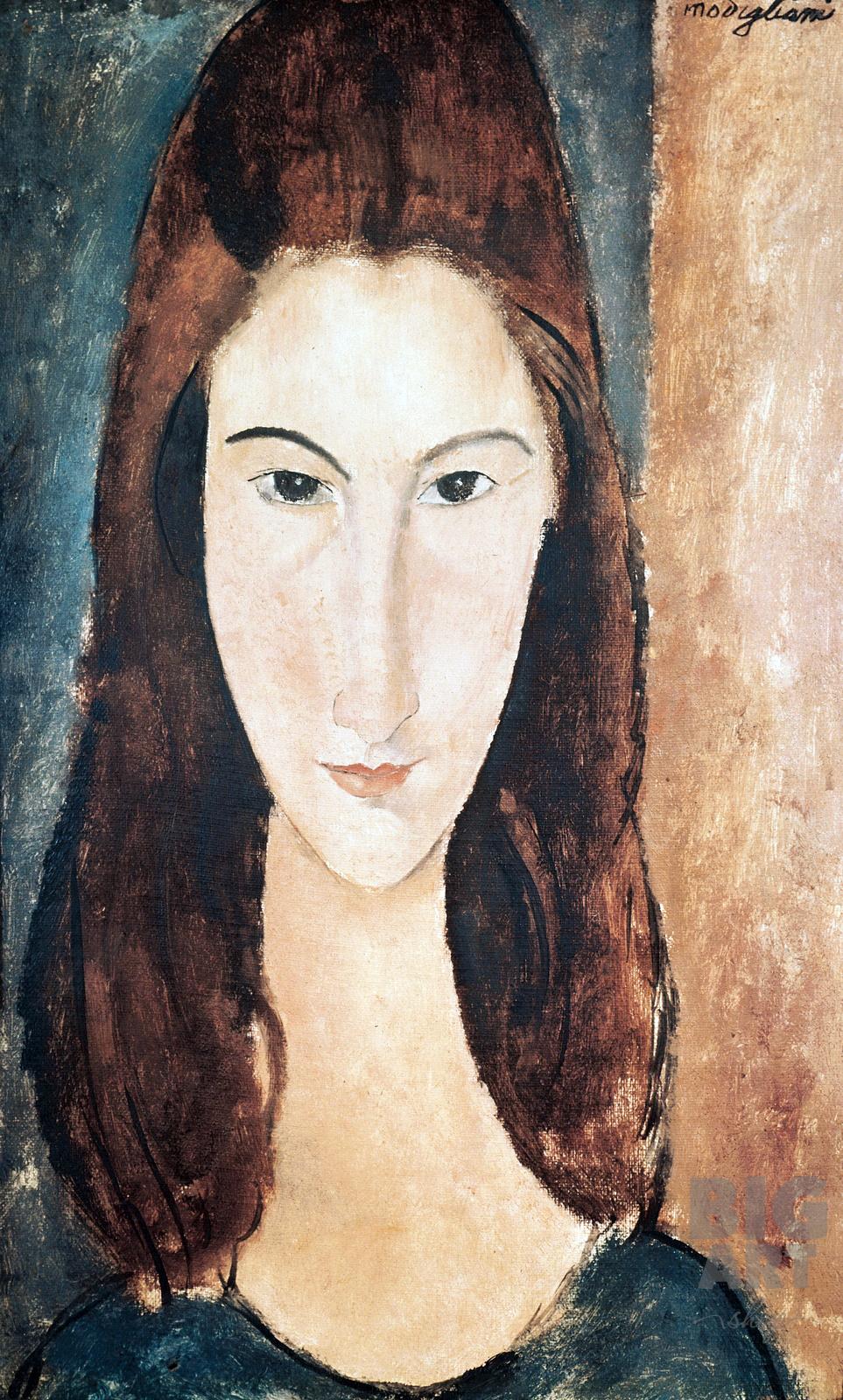 Портрет Жанны Эбютерн 1919
