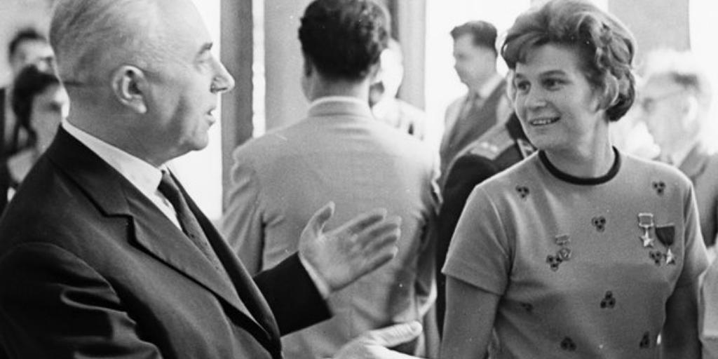 Летчик-космонавт СССР Валентина Владимировна Терешкова, 1 сентября 1963 года