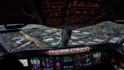 Полет глазами пилота: фоторепортаж из кабины
