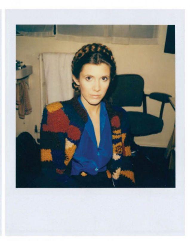 То что осталось за кадром фильма «Звёздные войны: Возвращение джедая»: полароидные снимки