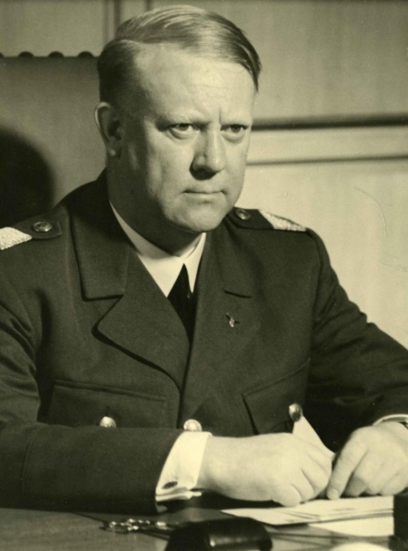 Лидер норвежских фашистов, коллаборационист Видкун Квислинг