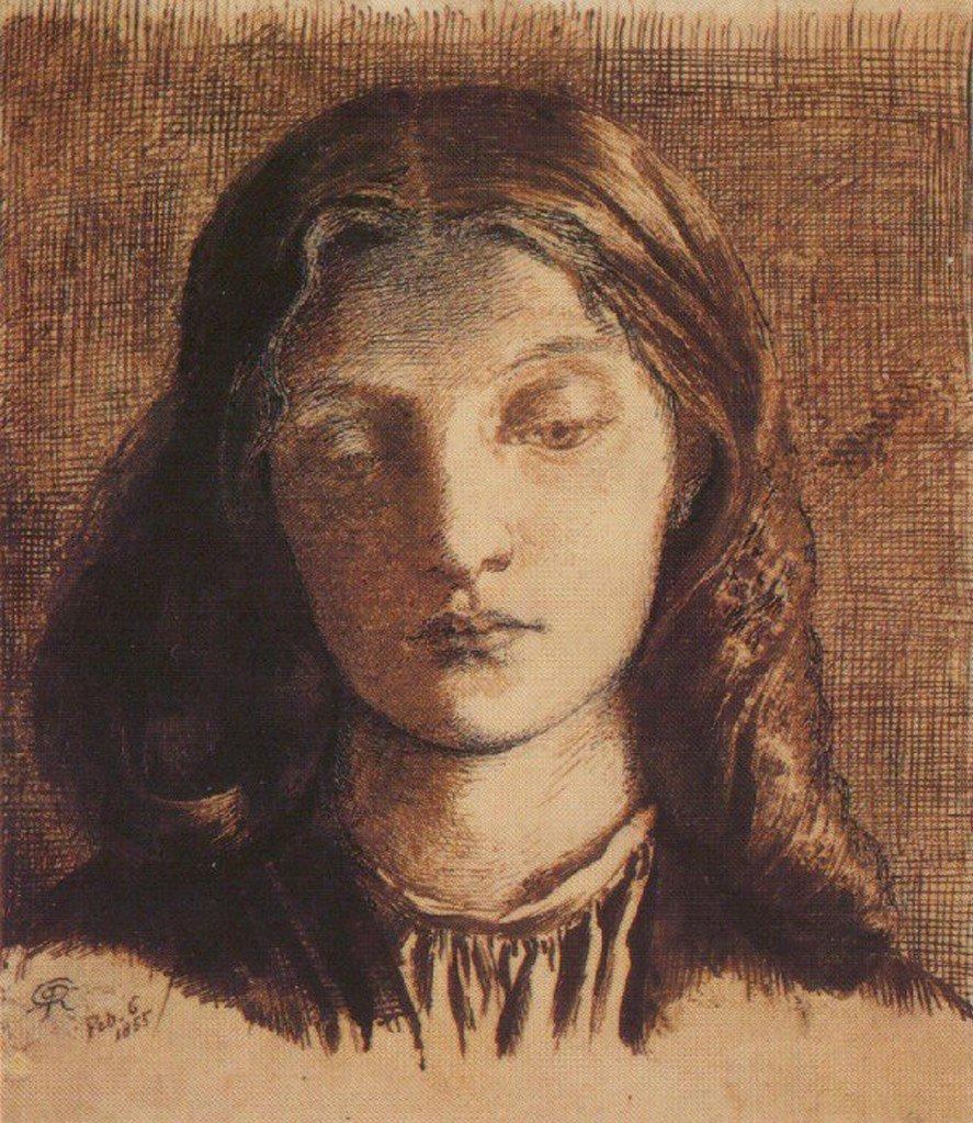 Элизабе́т Элеоно́р Сиддал (1829 — 1862) — британская натурщица, поэтесса и живописец, возлюбленная и жена Россети