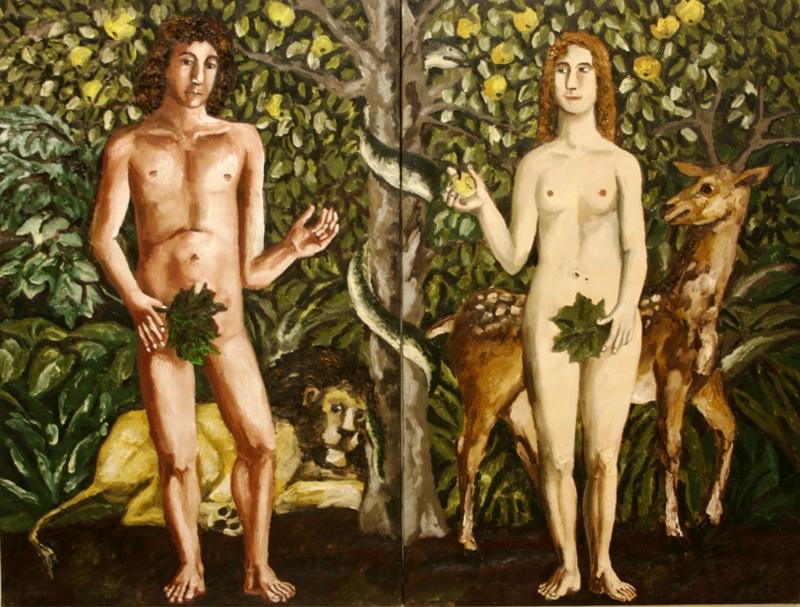 Н. Нестерова «Адам и Ева» 2007
