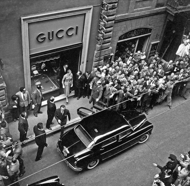 Открытие первого магазина Gucci в Нью-Йорке. 1953 год