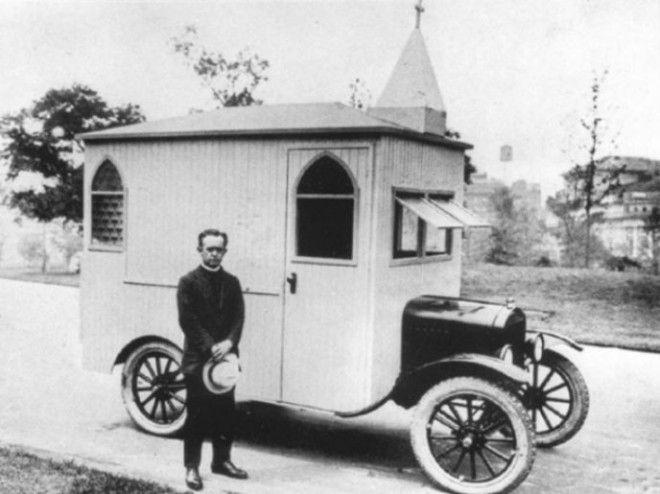 Передвижная церковь, 1922