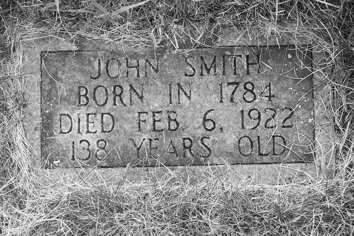 Погребальная табличка Джона Смита