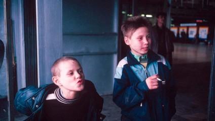 Уникальные фото России из лихих 90-х