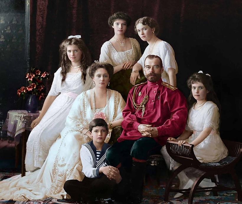 Семья императора России Николая II, 1914 год