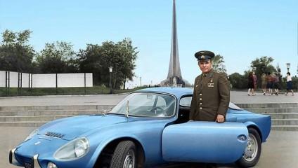 Редкие цветные ретро-фотографии героев страны