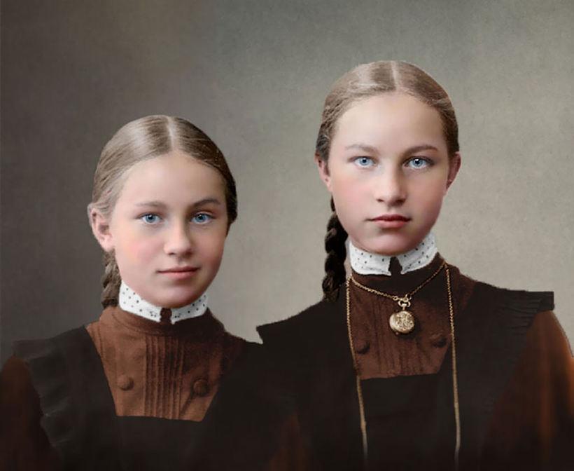 Гимназистки в царской России, 1900-1917 гг