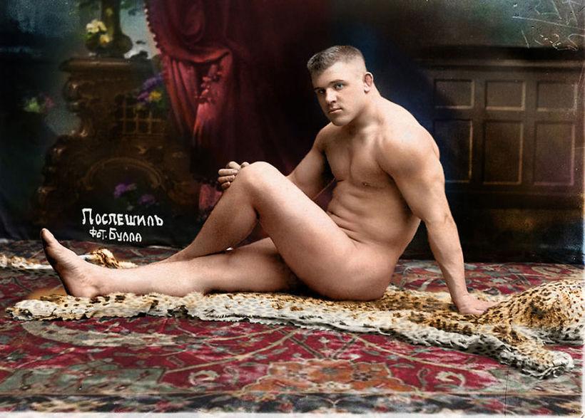 Чешский борец Карл Поспешил, 1912 год