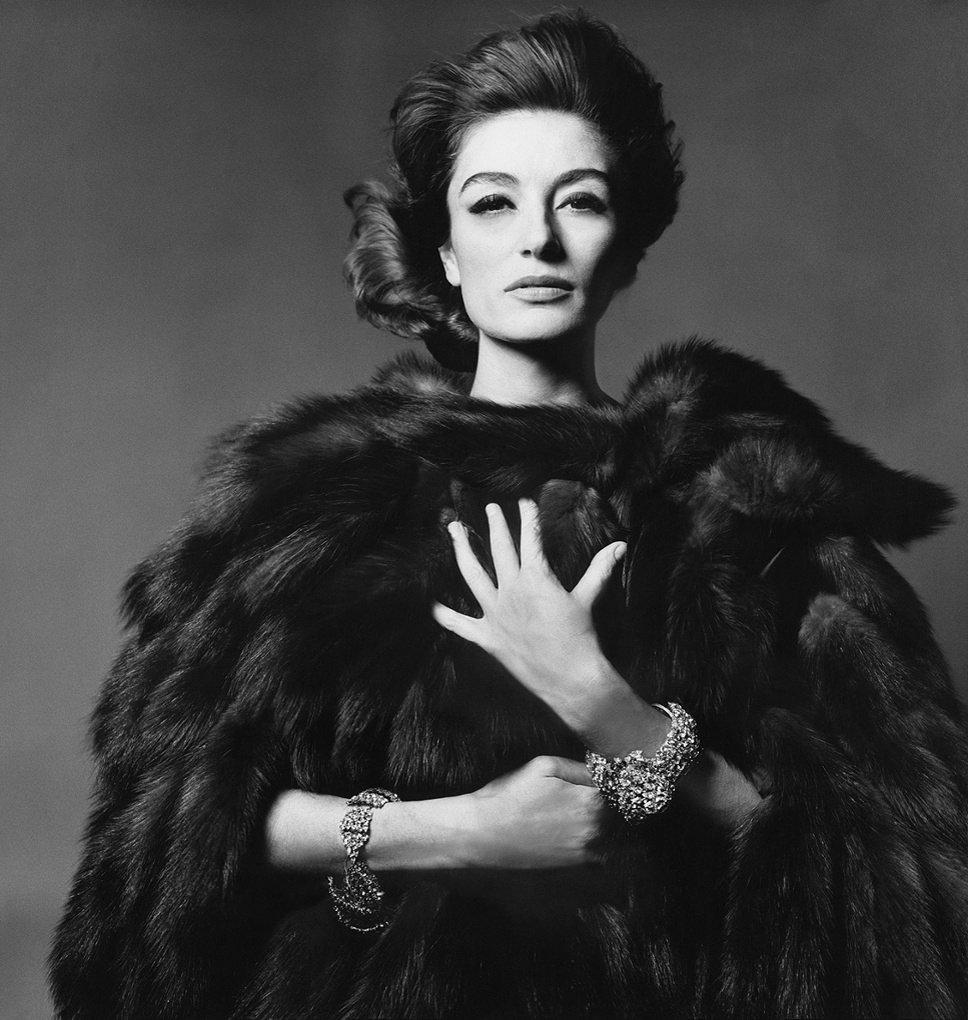 Анук Эме, 1965 Фотография: Bert Stern