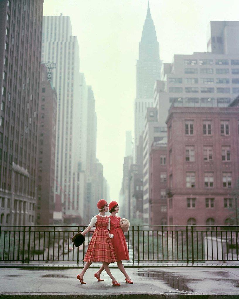 Нью-Йорк Девушки, 1958 Фотография: Sante Forlano