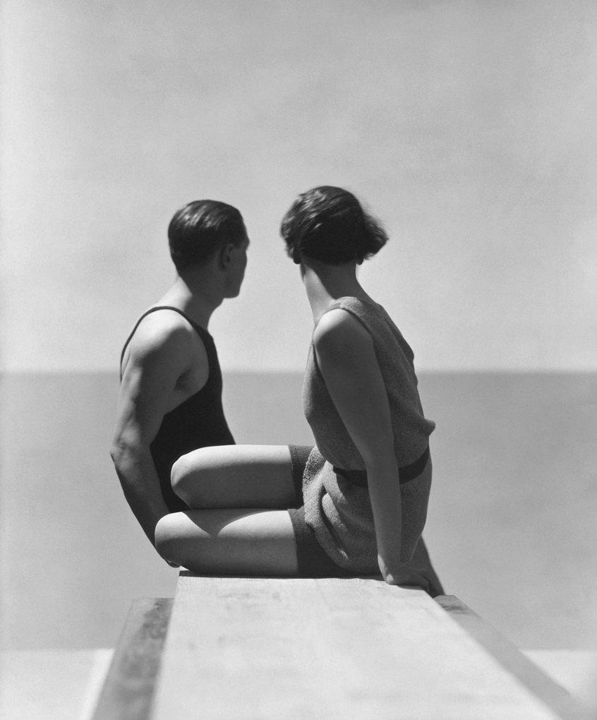Купальщицы, 1930 Фотография: Гойнинген-Гюне
