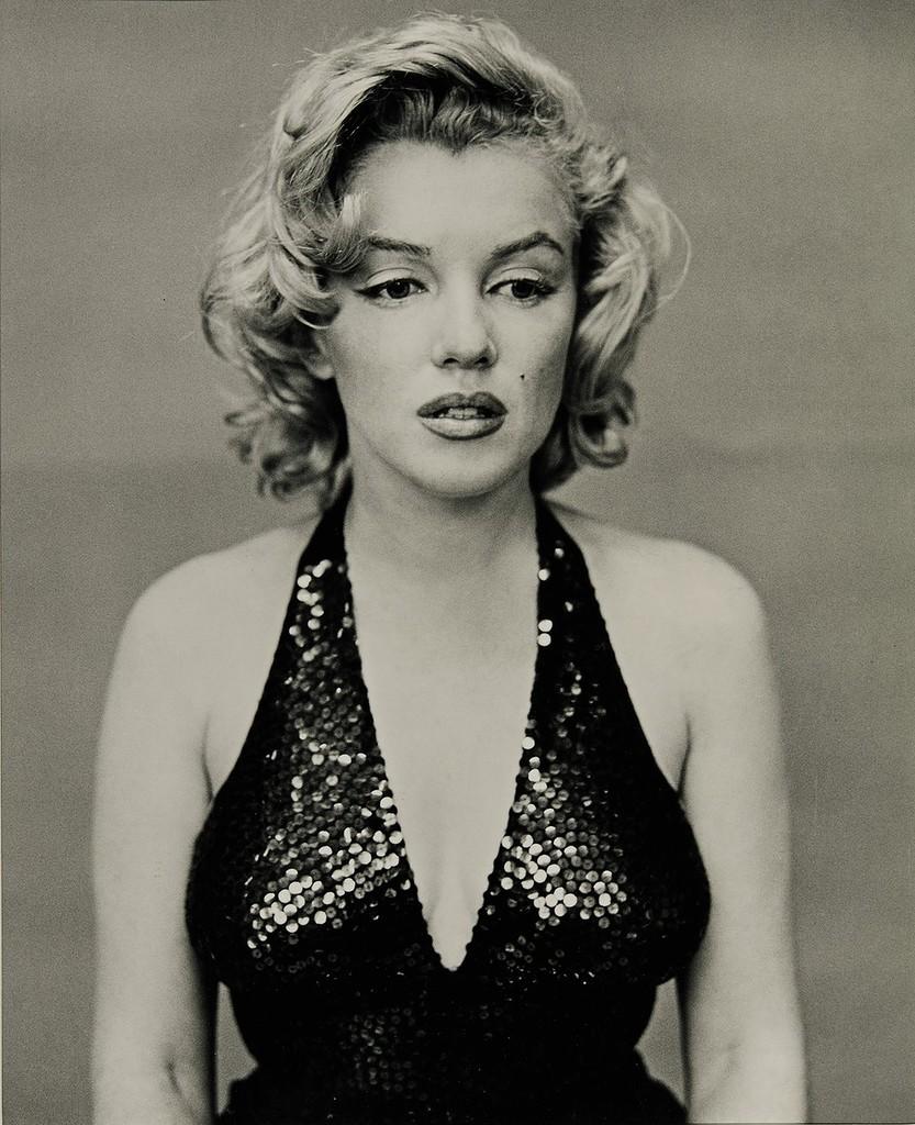 Мэрилин Монро, Нью-Йорк, 1957  Фотография: Ричарда Аведона.