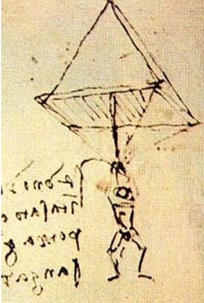 Парашют Леонардо  Леонардо да Винчи