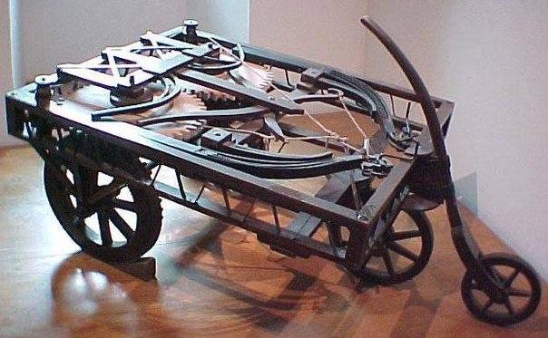 Изобретения Леонардо да Винчи: фантастика середины XV века