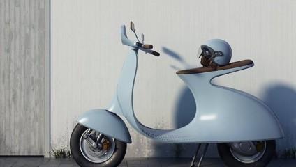 Эстетика прошлого и технологии будущего: электрический скутер Vespampеrе