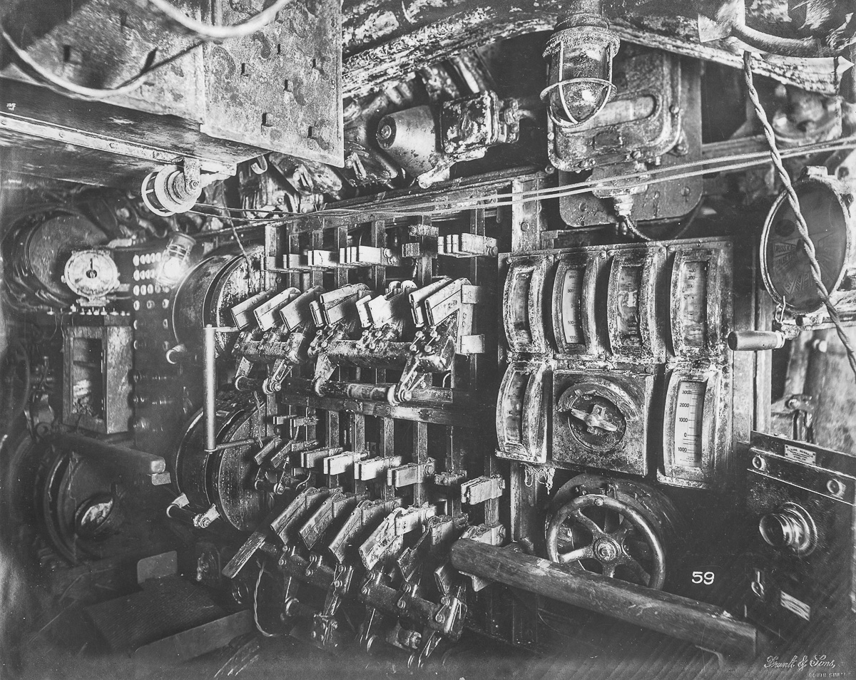Комната страха 1918 года: фото немецкой подлодки времен Первой мировой