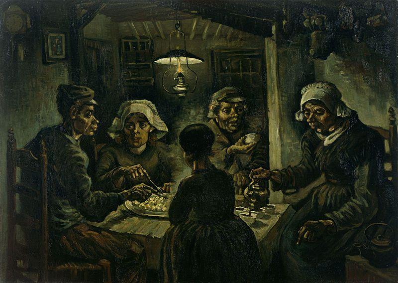 Винсент Ван Гог «Едоки картофеля»