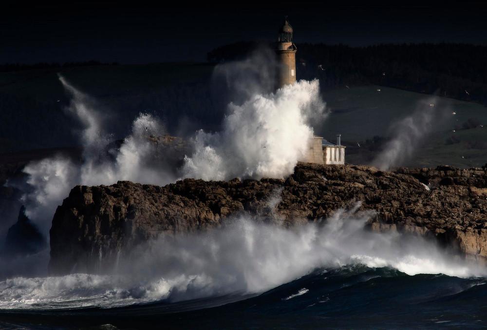 Mouro Island Light, Испания