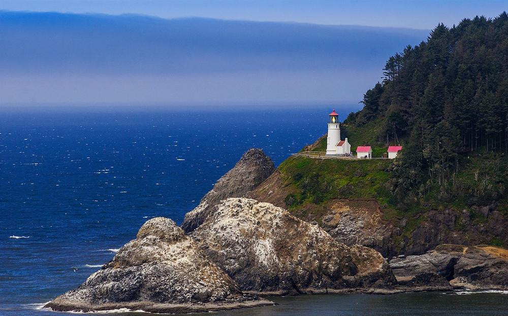 Heceta Head Lighthouse, штат Орегон, США