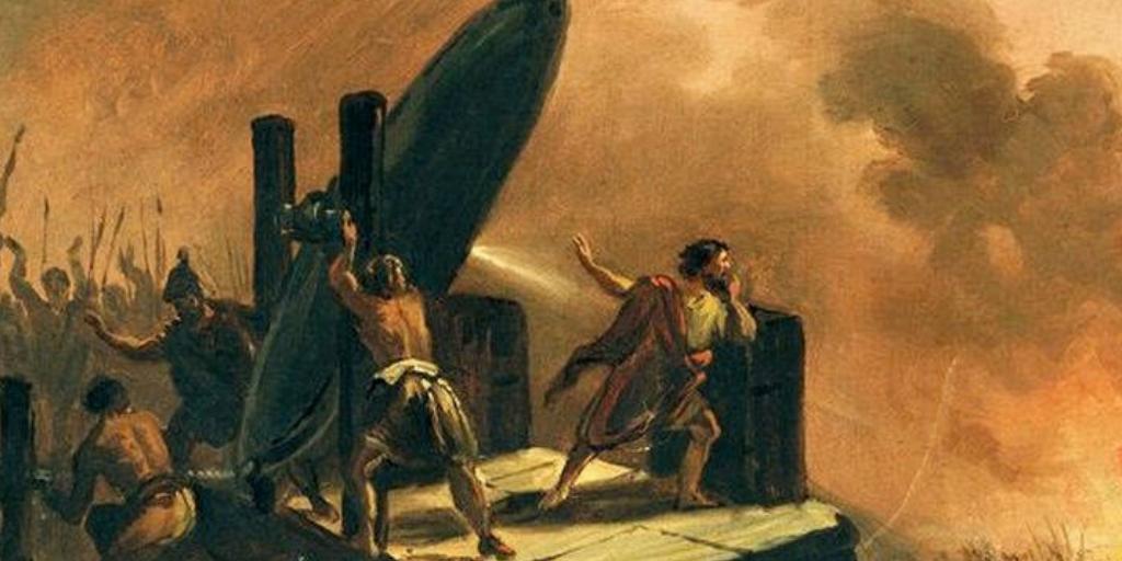 Древние орудия смерти: спасибо Архимеду за это