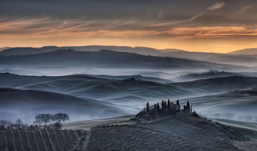Тосканский золотой восход