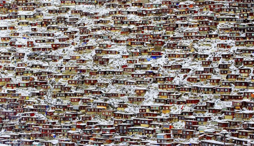 Жилое место, Тибет