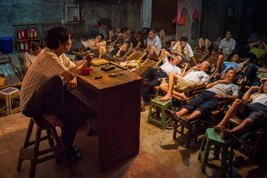 Рассказчик, Китай