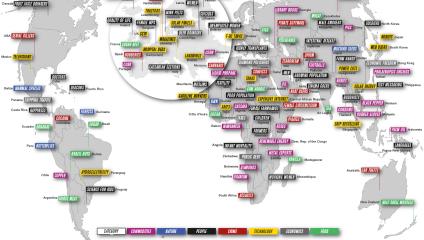 Мировые лидеры: чем обогатилась каждая из стран за год