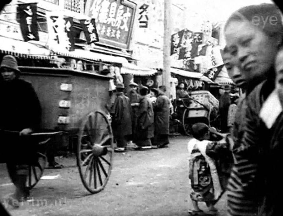 Редкие кадры: Токио 1913 года на видео