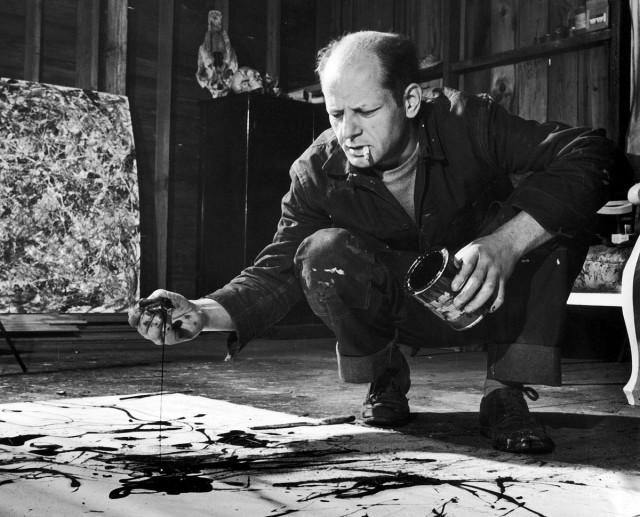 Видео: великие художники за работой — Пикассо, Моне, Поллок и другие