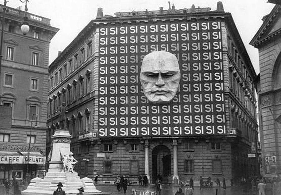 Штаб-квартира Бенито Муссолини и итальянской фашистской партии, 1934 год