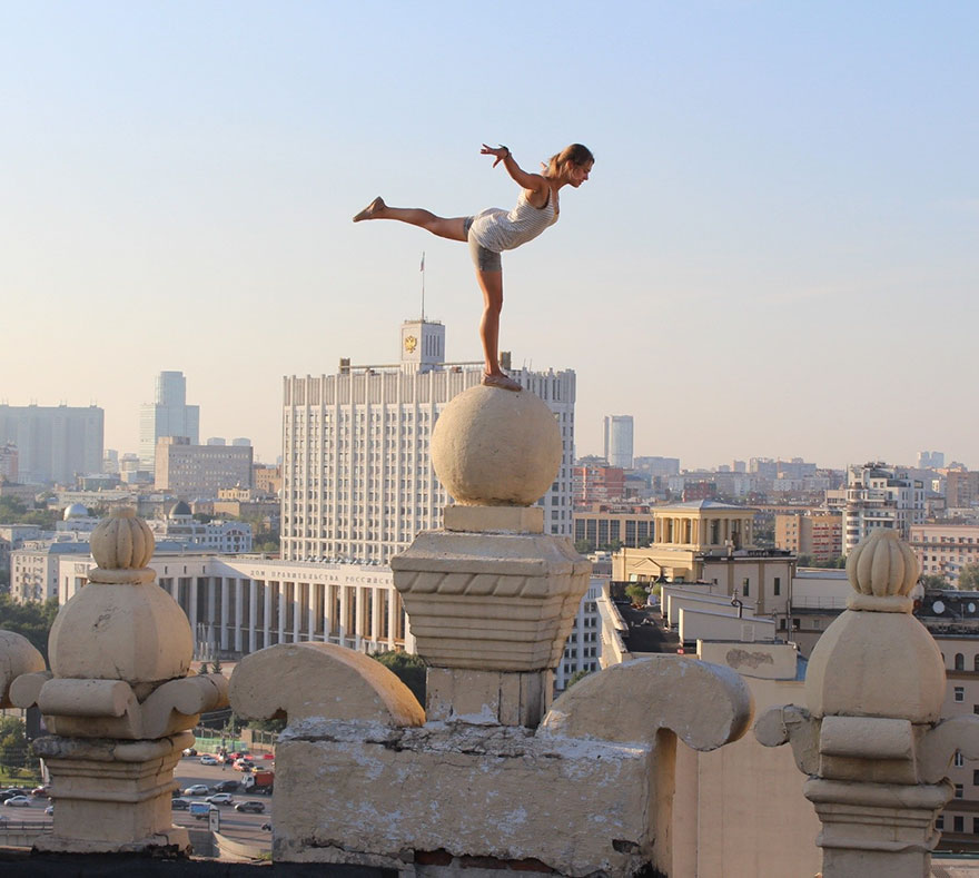 Какой ценой даются красивые снимки: руферша из России — покорительница высоты