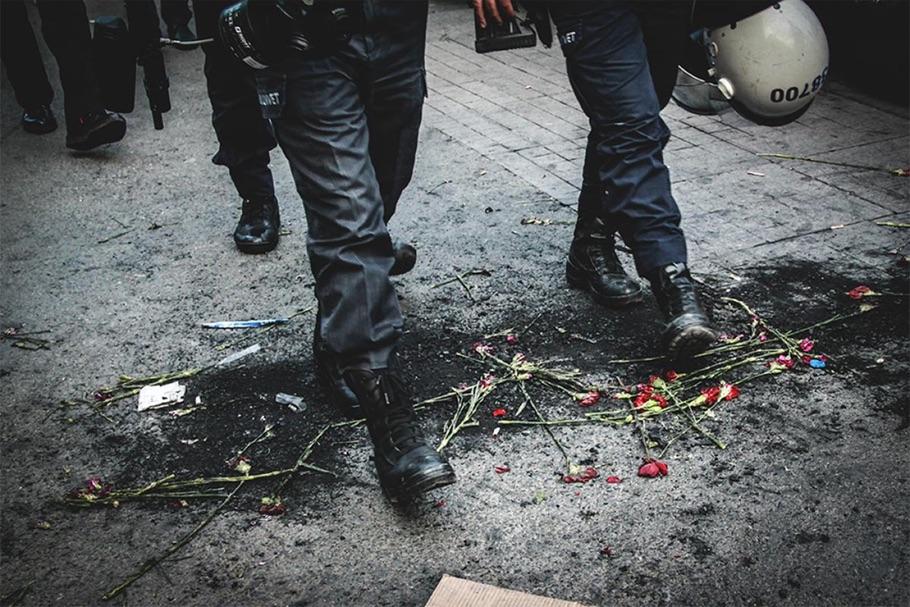 Протесты в Стамбуле. Первое место в категории «Репортаж: Политика».