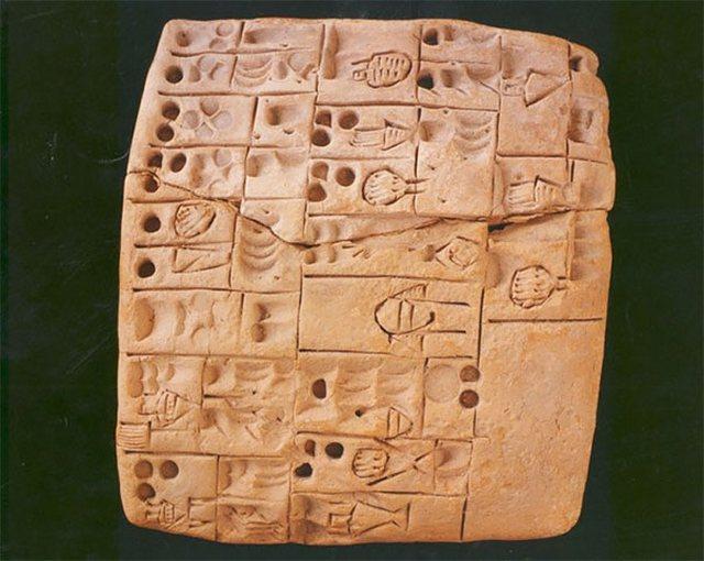 Первый написанный рецепт (5000 лет)
