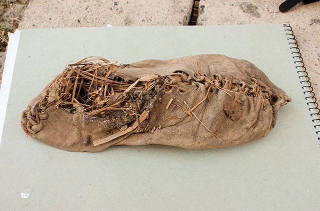 Самая старая обувь (5500 лет)