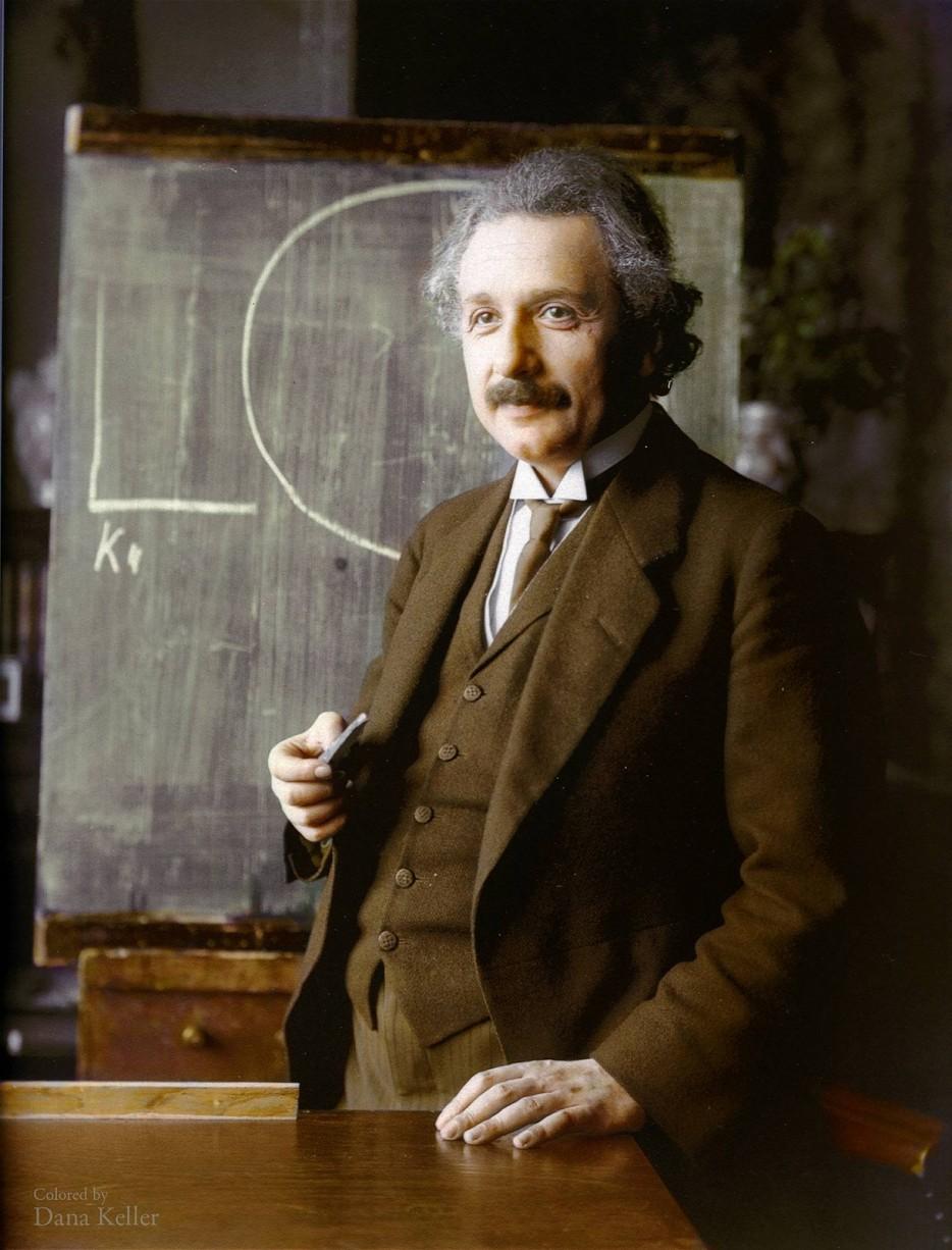 Альберт Эйнштейн. 1921 год