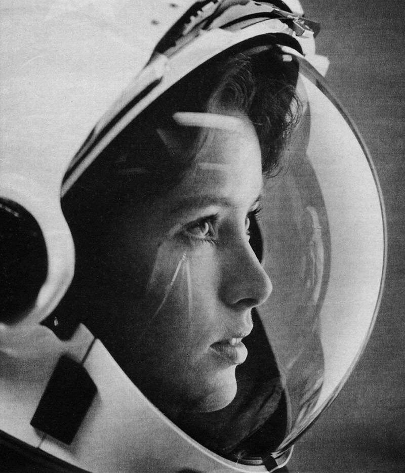 Анна Фишер - «первая мать в космосе». 1980-е гг
