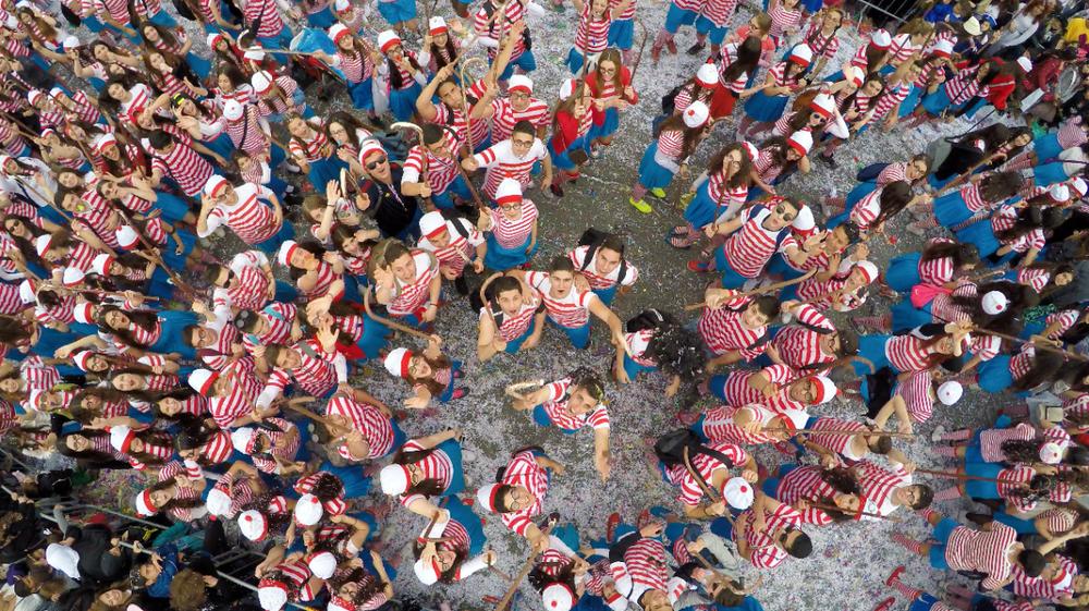 Карнавал в Лимассоле. Кипр