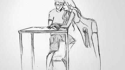 Чувственные рисунки мужа о каждом совместном дне с женой в течение года