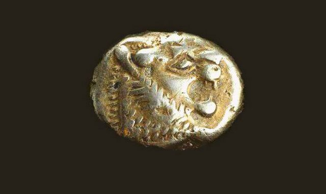 Древняя монета (2700 лет)