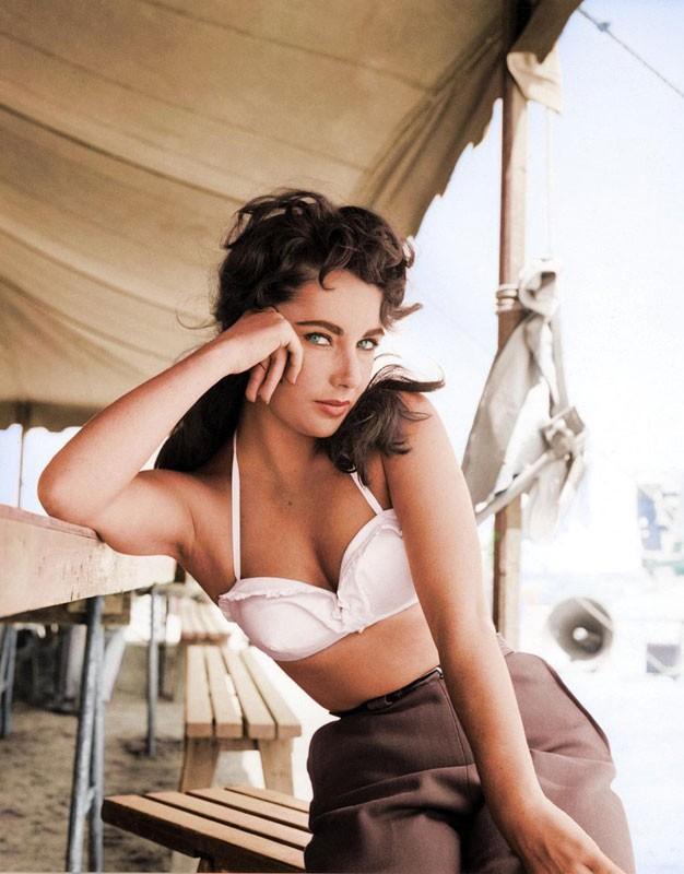 Элизабет Тейлор. 1956 год