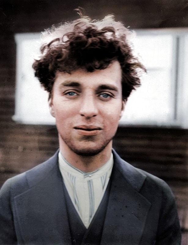 Чарли Чаплин в 27 лет. 1916 год