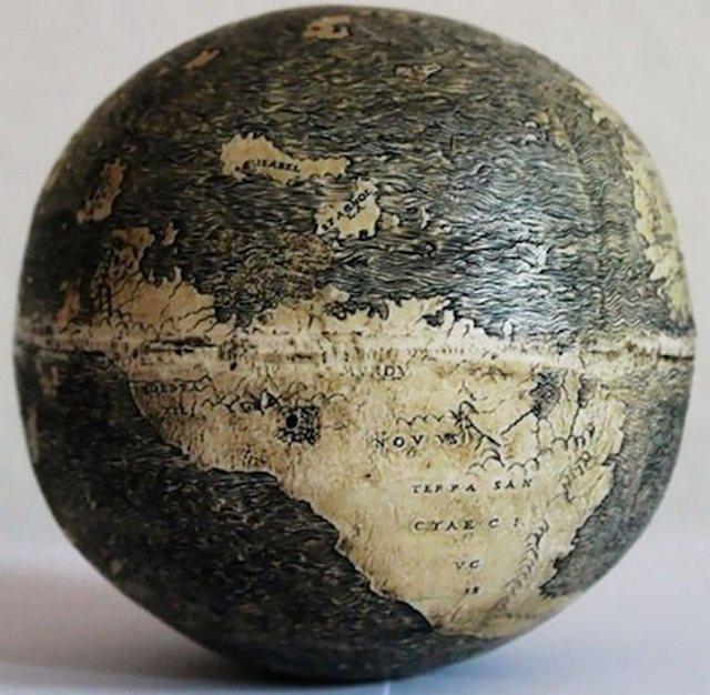 Самый старый глобус (510 лет)