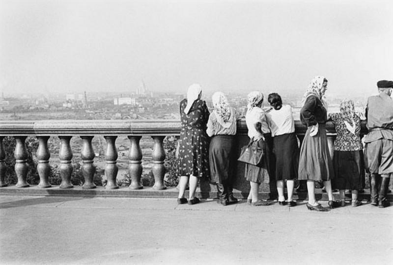 Moskva. Sovjetunionen 1955. Copyright © Georg Oddner / Malmö Museer / IBL Bildbyrå